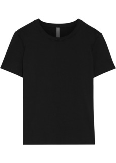 Commando Woman Essential Stretch-cotton Jersey T-shirt Black
