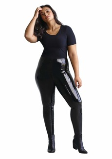 Commando Plus Size Faux Patent Leggings with Perfect Control+ SLG25W