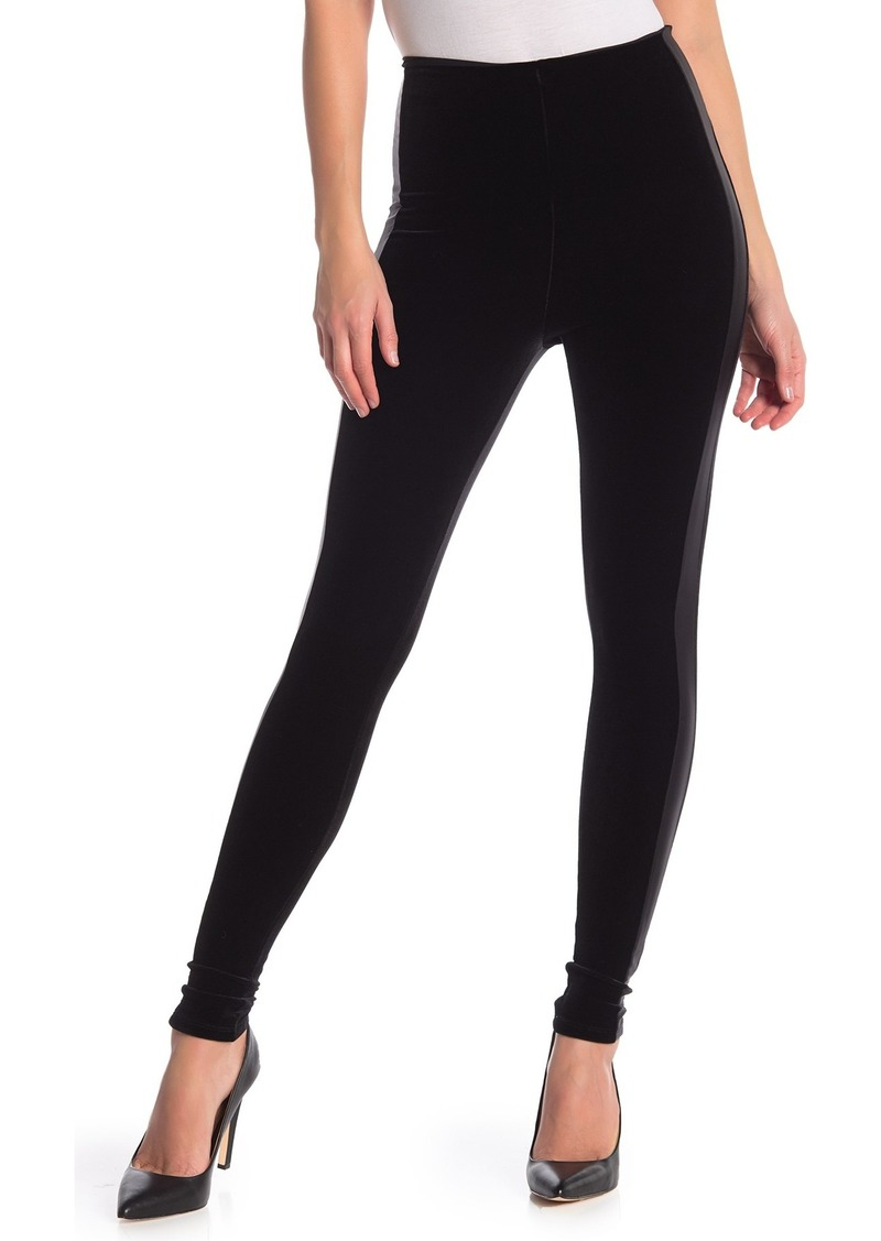 Commando Velvet Side Stripe Leggings