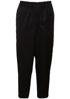 Comme des Garçons 15cm Wool Gabardine Pants