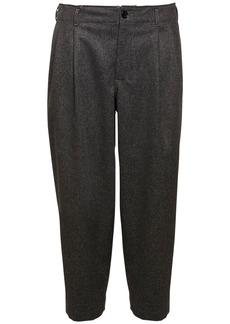 Comme des Garçons 18cm Wool Pants