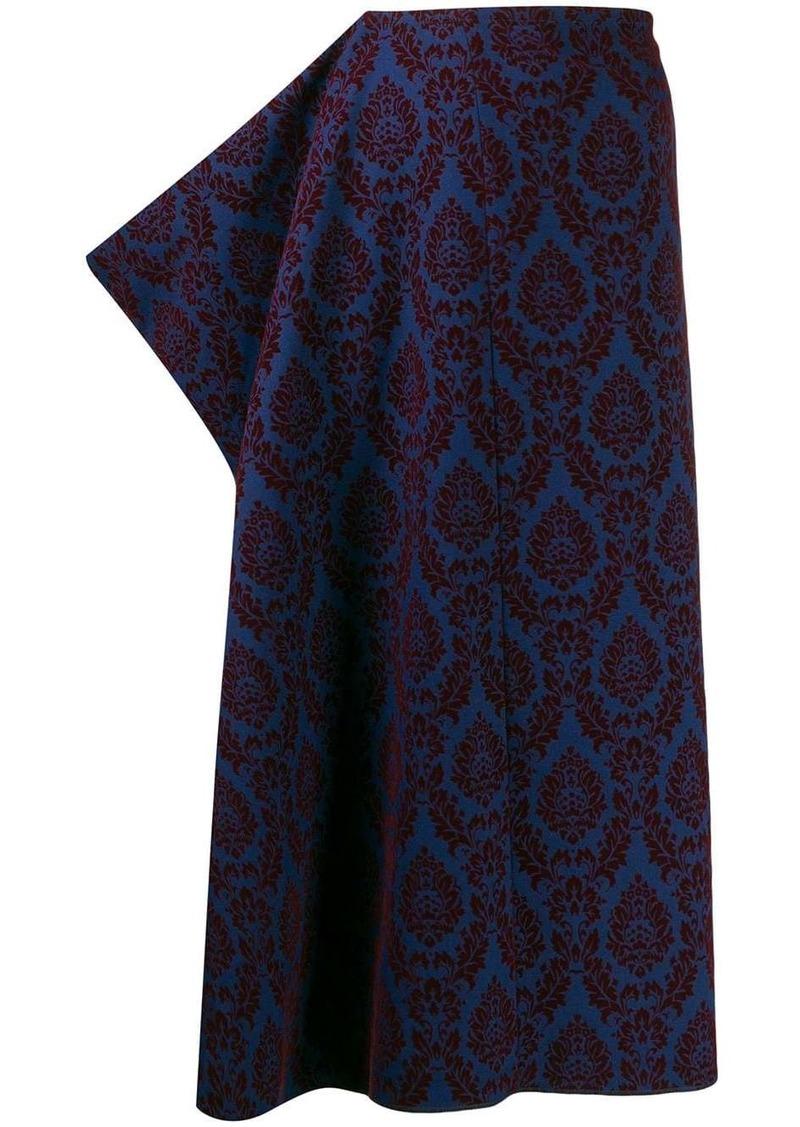 Comme des Garçons 1996 paisley print skirt
