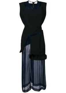 Comme des Garçons 1997 layered sheer dress