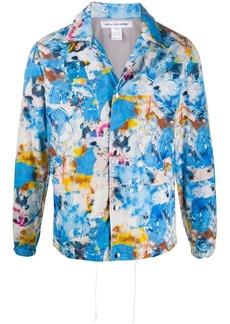 Comme des Garçons all-over print bomber jacket
