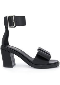 Comme des Garçons ankle strap bow sandals