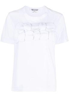 Comme des Garçons appliqué cotton T-shirt