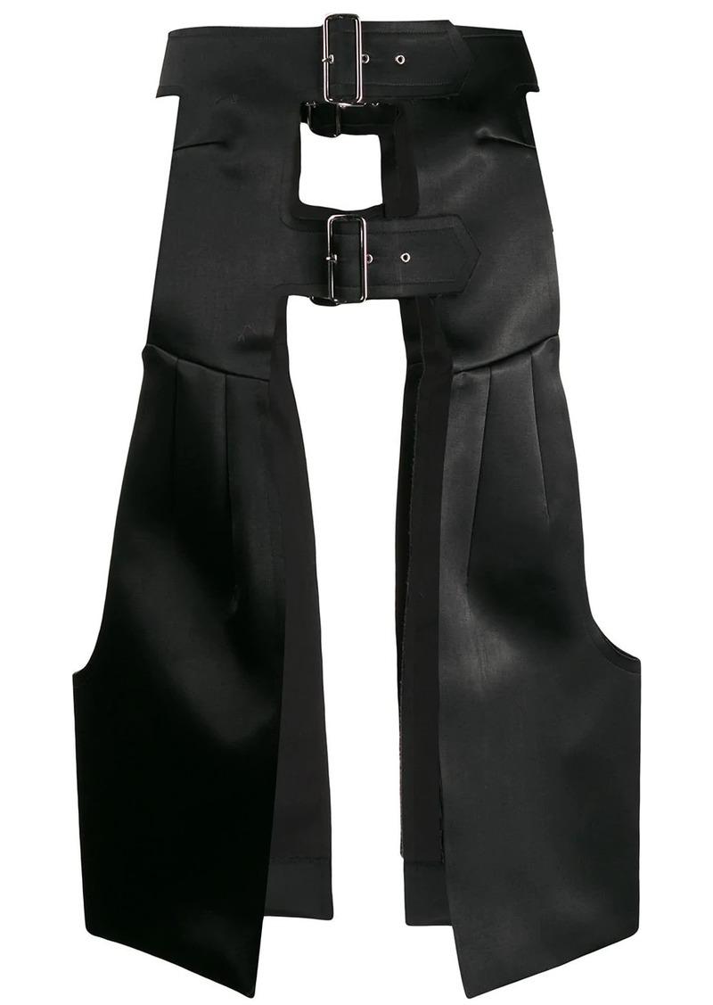 Comme des Garçons armour style skirt