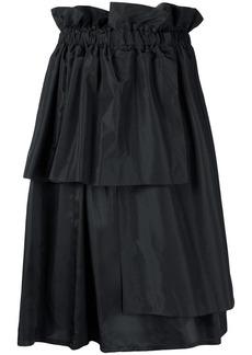 Comme des Garçons asymmetric layered skirt