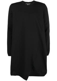 Comme des Garçons asymmetric long-line sweater