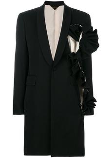 Comme des Garçons asymmetric ruffle detail jacket