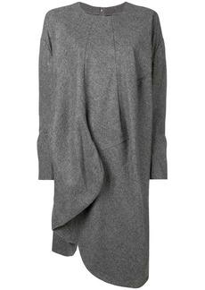 Comme des Garçons asymmetric sweater dress