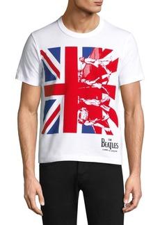 Comme des Garçons Beatles British Flag Tee