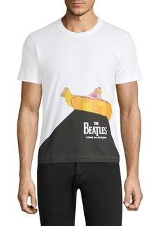 Comme des Garçons Beatles Yellow Submarine Cotton Tee