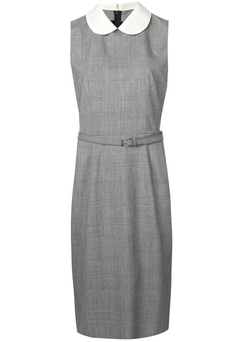 Comme des Garçons belted fitted dress