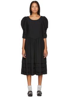 Comme des Garçons Black Bouffant Dress