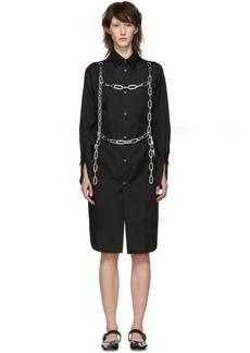 Comme des Garçons Black Chains Shirt Dress