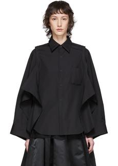 Comme des Garçons Black Deconstructed Shirt