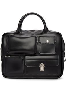Comme des Garçons Black Faux-Leather Multi Wallet Bag