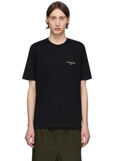 Comme des Garçons Black Logo T-Shirt