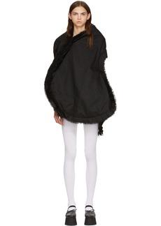 Comme des Garçons Black Multi Fabric Stripe Dress