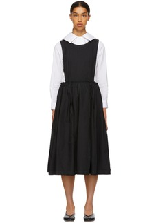 Comme des Garçons Black Open Side Dress
