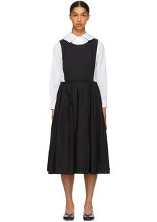 Comme des Garçons Black Open Side Dress