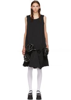 Comme des Garçons Black Rose Dress