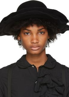 Comme des Garçons Black Scha Edition Double Brim Wool Felt Hat