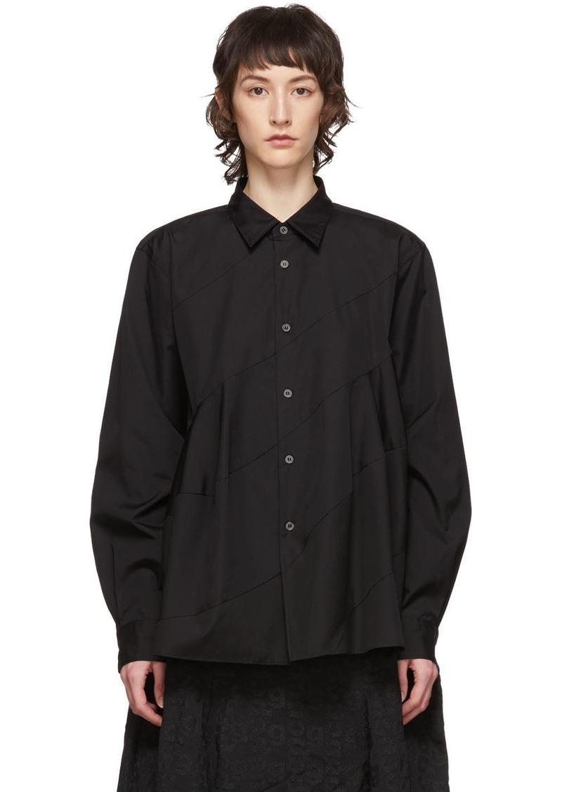 Comme des Garçons Black Spiral Seam Shirt