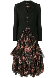 Comme des Garçons blazer-style flared dress