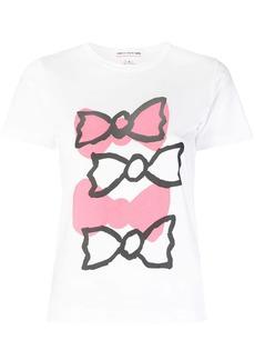 Comme des Garçons bow printed T-shirt