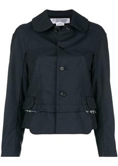 Comme des Garçons button-down fitted jacket