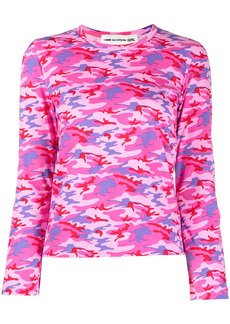 Comme des Garçons camouflage-print cotton t-shirt
