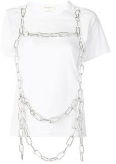 Comme des Garçons chain embellished T-shirt