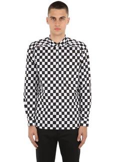Comme des Garçons Checkered Open Back Poplin Shirt
