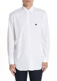 Comme des Garçons PLAY Appliqué Oxford Shirt