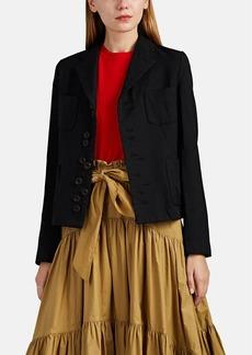 Comme des Garçons Comme des Garcons GIRL Women's Asymmetric Ten-Button Blazer