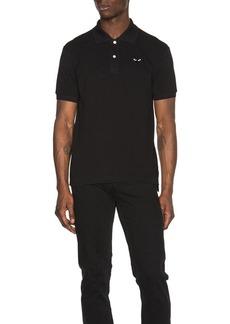 Comme des Garçons Comme Des Garcons PLAY Cotton Polo with Black Emblem