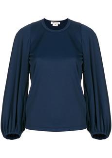 Comme Des Garçons balloon sleeve blouse - Blue