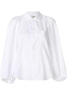 Comme Des Garçons balloon sleeve shirt - White