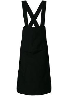 Comme Des Garçons classic pinafore dress - Black