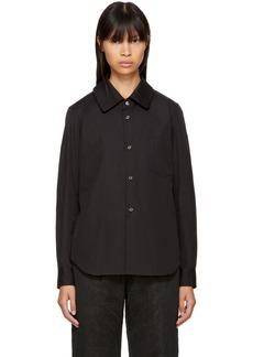 Comme des Garçons Comme des Garçons Black Pointed Collar Shirt
