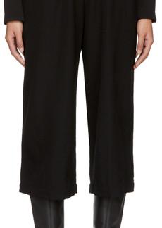 Comme des Garçons Comme des Garçons Black Suspender Trousers