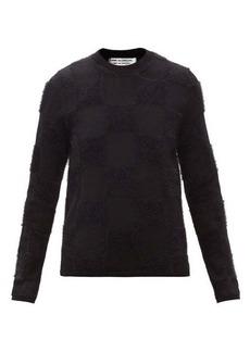 Comme des Garçons Comme des Garçons Checked wool-blend sweater