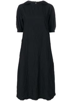 Comme Des Garçons Comme Des Garçons crinkled midi dress - Black