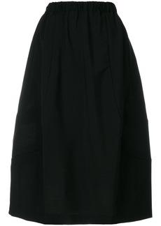 Comme Des Garçons Comme Des Garçons elasticated waist skirt - Black