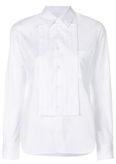 Comme Des Garçons Comme Des Garçons front panel shirt - White