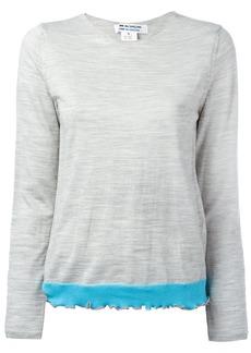 Comme Des Garçons Comme Des Garçons knitted top - Grey