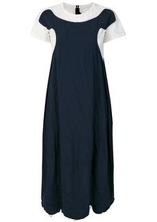 Comme Des Garçons Comme Des Garçons layered jersey dress - Blue