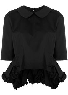 Comme Des Garçons Comme Des Garçons ruffle detail blouse - Black